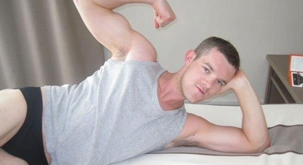 Russell Tovey Butch, Russell Tovey, Looking, gay, actor, gay blog, shirtless, sexy, Looking, HBO