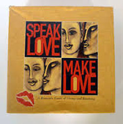 tabletop Games love speak love make love, board game, valentine's game