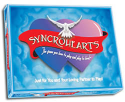 tabletop Games love synchrohearts, board game, valentine's game