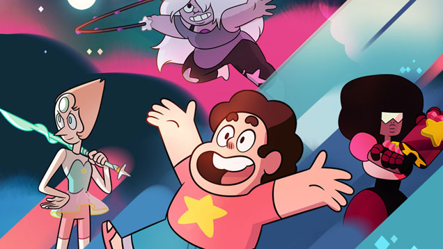 characters, Crystal Gems, Steven Universe, characters, Cartoon Network, tv show