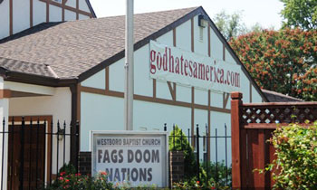 kansas, westboro baptist church, god hates fags, conservative, christian