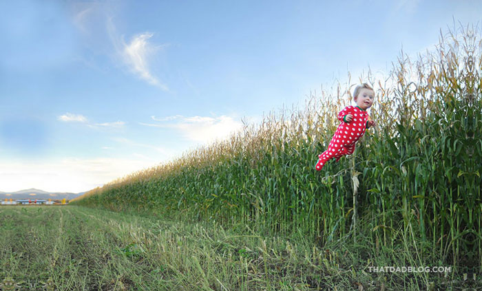 William Lawrence, Wil Lawrence, Alan Lawrence, photographer, down syndrome, baby, fly, flying, superhero, kid, child, boy, family, kickstarter, fundraiser