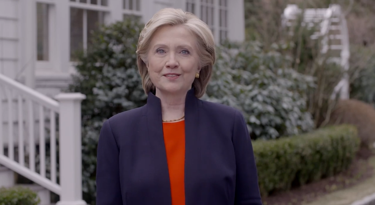 Hillary Clinton, ad, Hillary for President, campaign ad