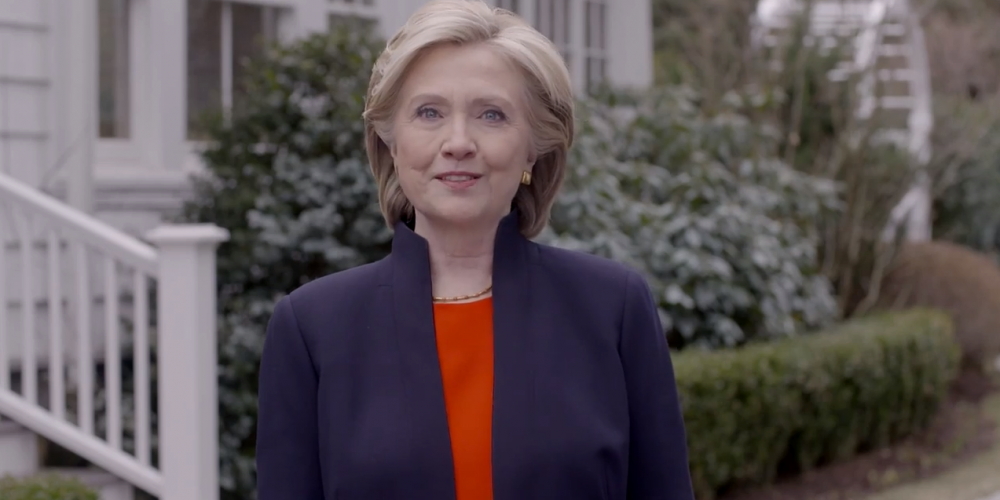 Hillary Clinton Campaign Launch Video Features Gay Couple Planning to Marry