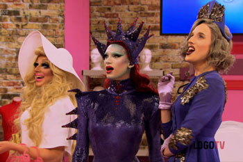 rupaul's drag race, season 7, seven, logo, logo tv, drag queens, boring, naked