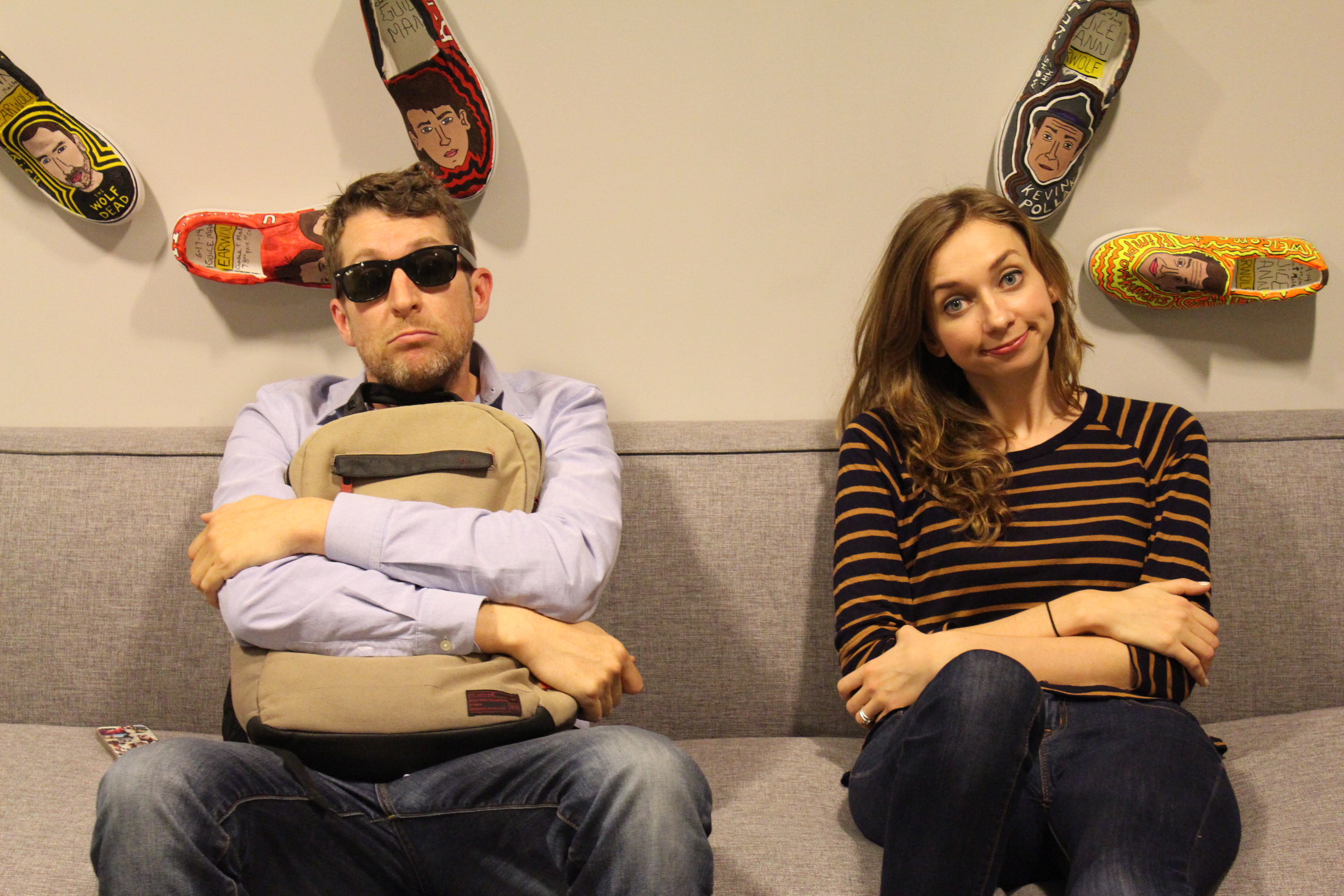 lauren lapkus, scott aukerman, with special guest, earwolf, comedy bang bang