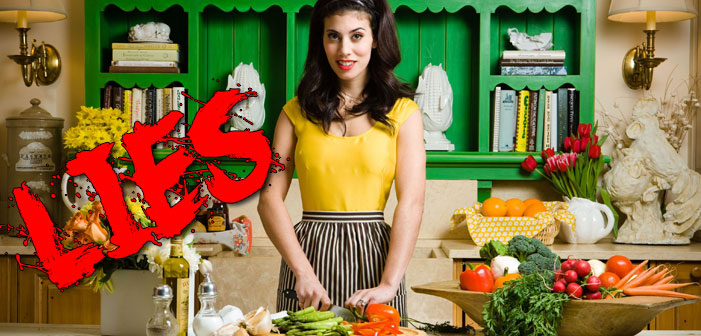 10 lies provided by cooking shows