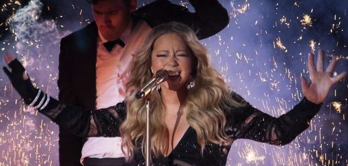 mariah carey in new vegas show