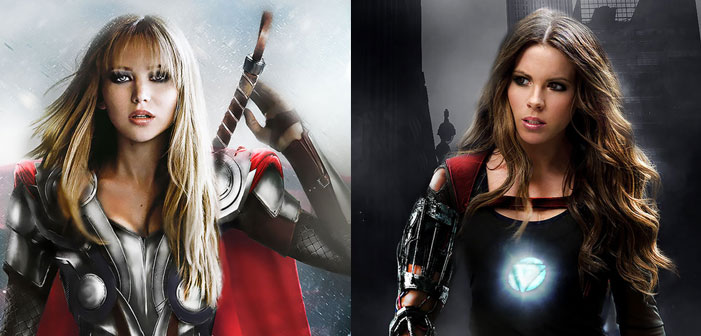 Super SHeroes! The Gender-Swapped 'Avengers' Battle Hollywood Sexism