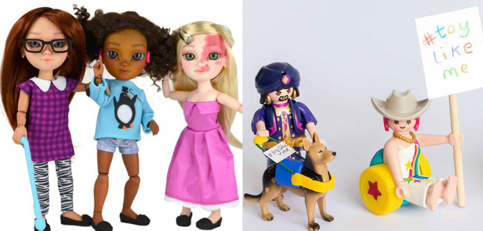 Rad! #ToyLikeMe Seeks Disabled Toys For The World's 150 Million Disabled Kids