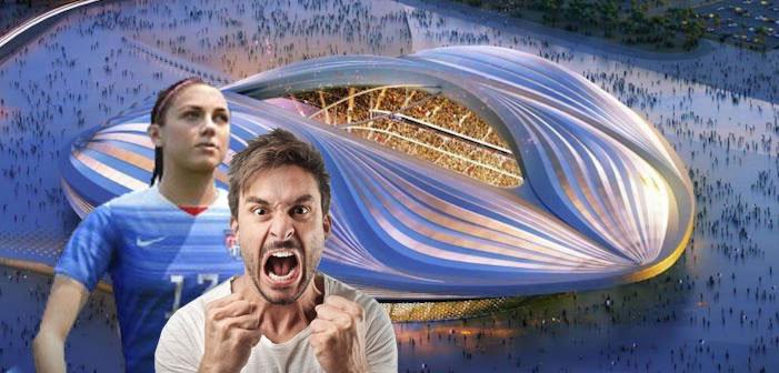 fifa's space vagina stadium