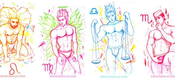 Mais 12 Gostosões Divinamente Zodiacais Para Fazer Você Ver Estrelas