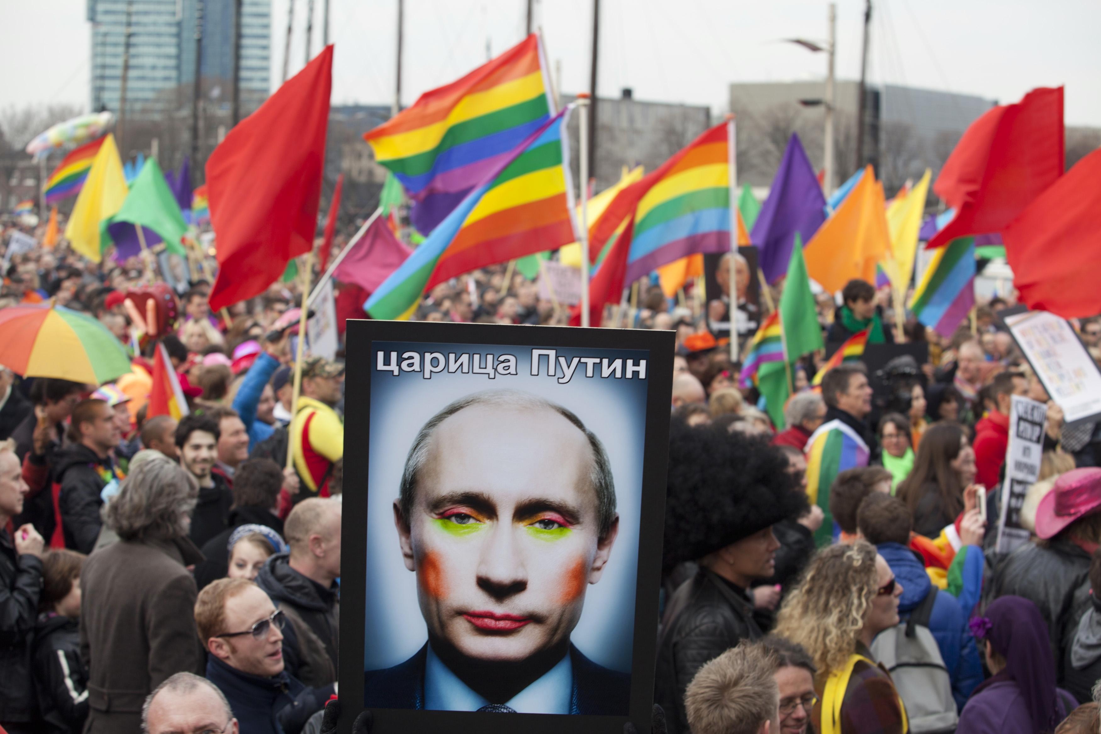 A Fomentação de Guerra Gay da Rússia Vai Ajudá-la a Ganhar o Eurovision?
