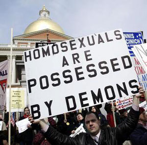 christian, homosexuals are possessed by demons, evil gays, light wins, how to overcome the criminalization of christianity, film, gay blog, lgbt, queer