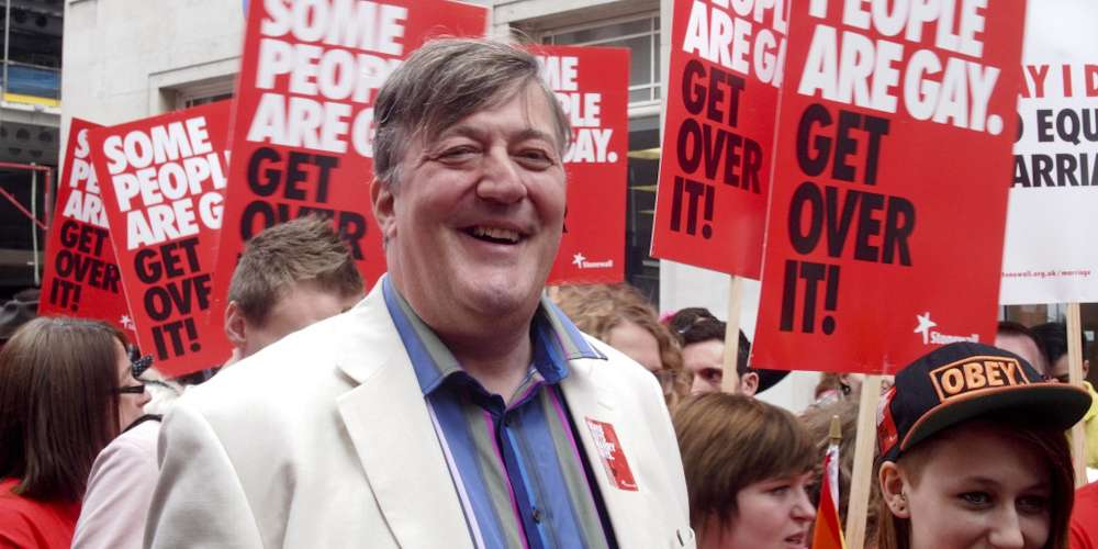 Ireland Launches a Blasphemy Investigation Against Stephen Fry for Calling God a 'Maniac'