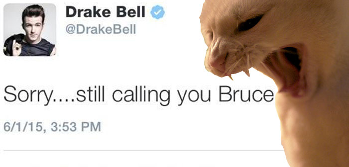Drake Bell Called Caitlyn Jenner 'Bruce' and Twitter Went Insane