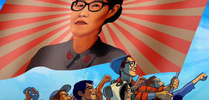 reddit, ellen pao, banning, censorship, cartoon, protest, gay blog, lgbt, queer