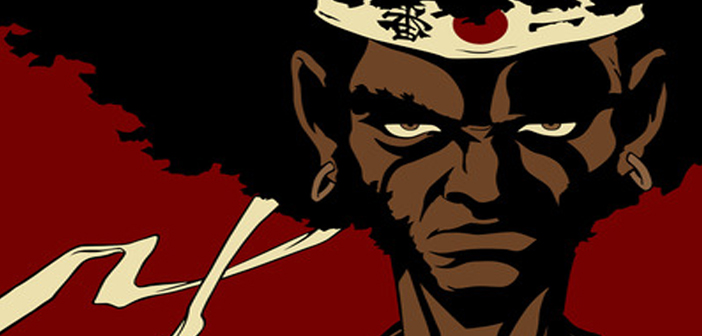 afro samurai, anime, cartoon, china, japan, banned