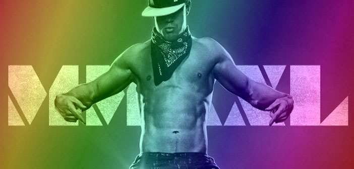 magic mike xxl, film, stripper, gay, rainbow, hunk, shirtless