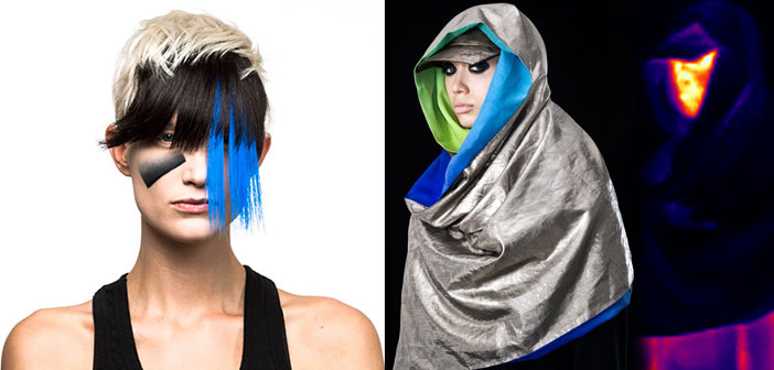 PHOTOS: Anti-Surveillance Makeup And Fashions Combine Artistic With Futuristic