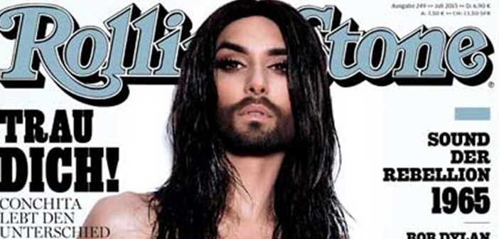 2014 Eurovision Winner Conchita Wurst Goes Topless For 'Rolling Stone'