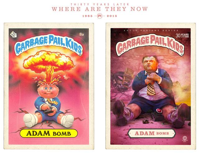 garbage pail kids, john pound, art spiegelman, mark newgarden, topps