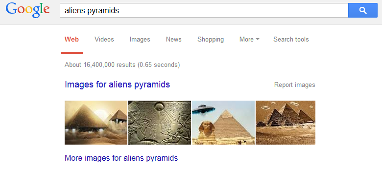aliens pyramids