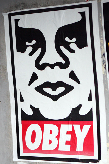obey, poster, Shepard Fairey, Andre the Giant