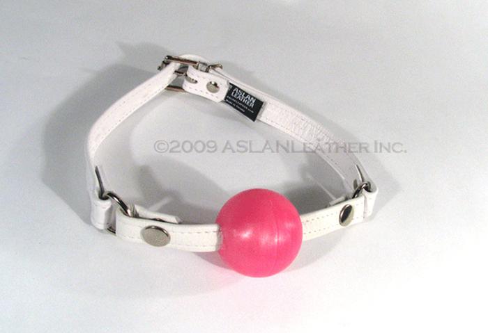 ball gag, ASLAN Leather, BDSM