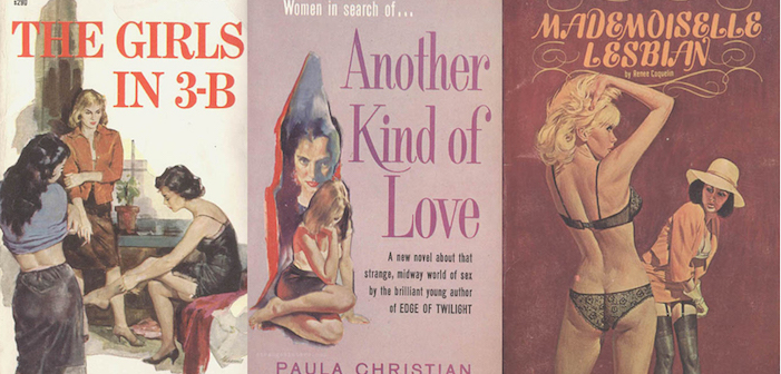 lesbian, gay pulp novel, pulp fiction, erotica