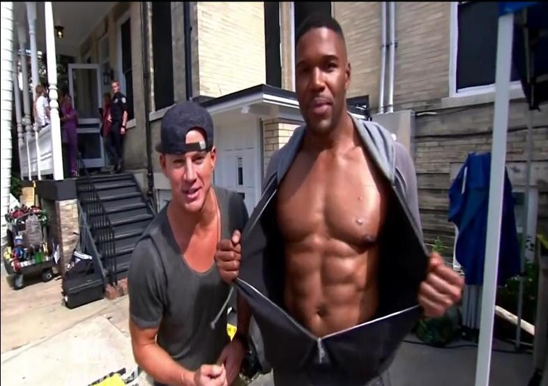 Magic Mike XXL, Stripping, Michael Strahan, Channing Tatum