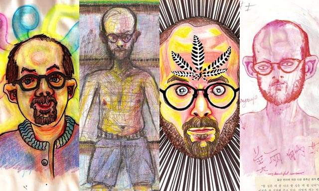 High Art: Bryan Saunders Made 52 Self-Portraits On Different Drugs