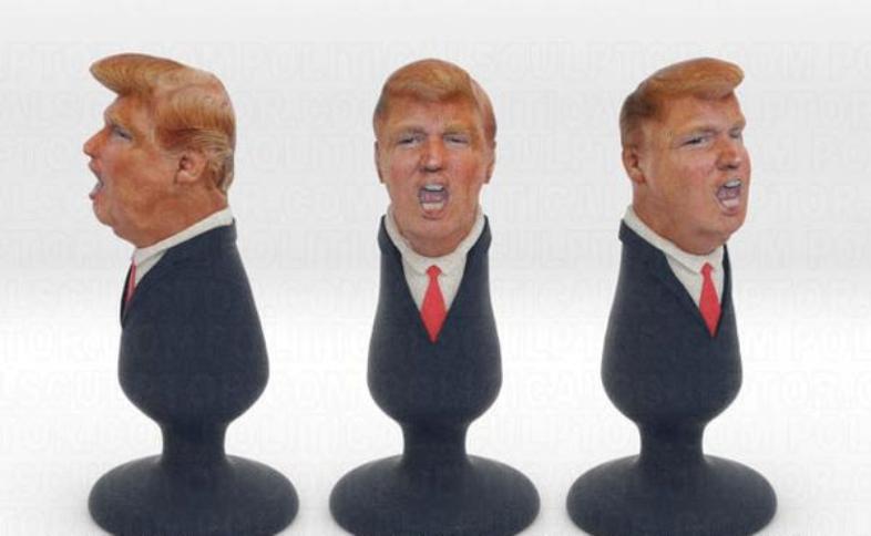 Donald Trump, Butt Plug, Sex Toy