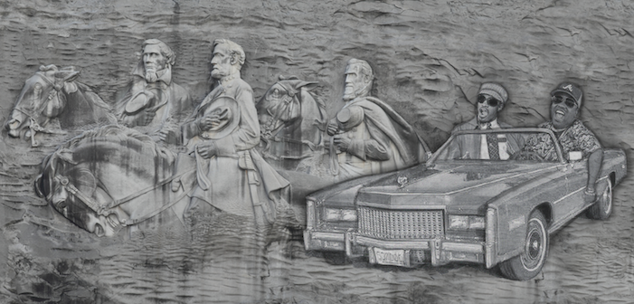 outkast, confederate, stone mountain, monument