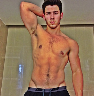 nick jonas, gay, kingdom, shirtless, sexy, hot