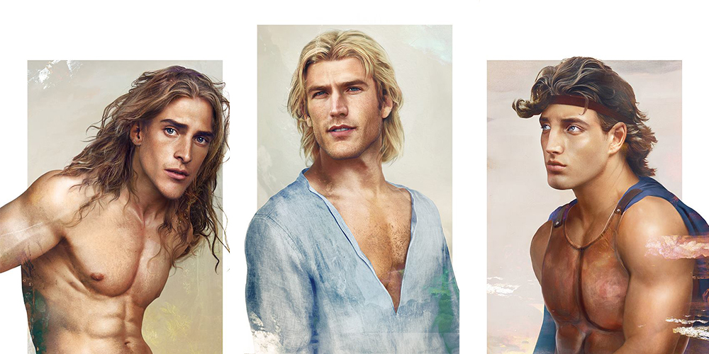 These 13 'Real Life' Disney Guys Are a Whole New World of Hunkiness