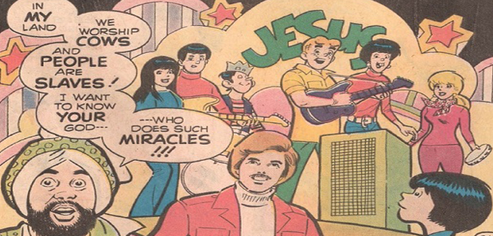 Archie comics, Christian, Al Hartley, racist, Muslim