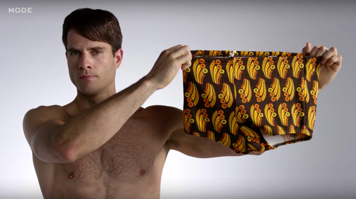 100 years of men's swimsuits
