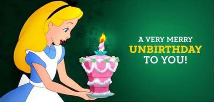 Alice in Wonderland, cake, birthday, unbirthday, Disney