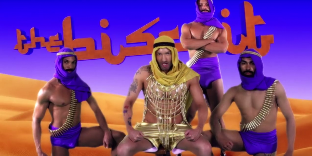 """VIDEO: Cazwell Mixes Middle-Eastern Studs And Stereotypes In """"The Biscuit"""""""