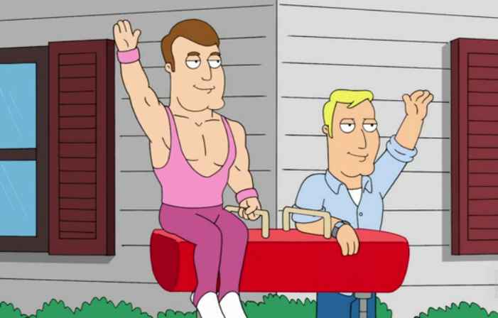 Greg and Terry, cartoon, american dad, gay couple