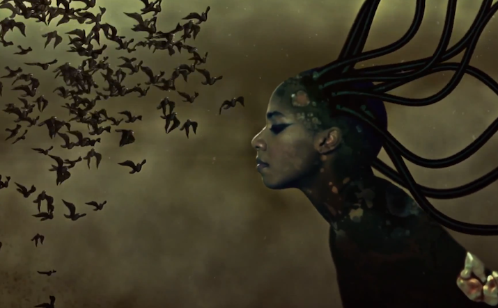 Wangechi Mutu, Santigold, End of eating Everything