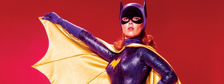 batgirl, psa, Yvonne Craig, 1967, Batman original TV series, costume