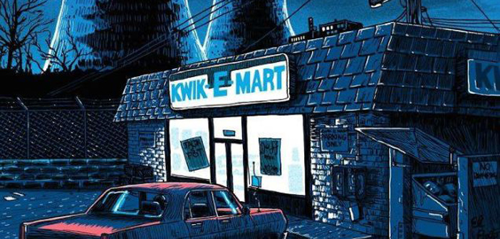 PICS: Illustrator Tim Doyle Shows The Simpsons' Springfield After Dark