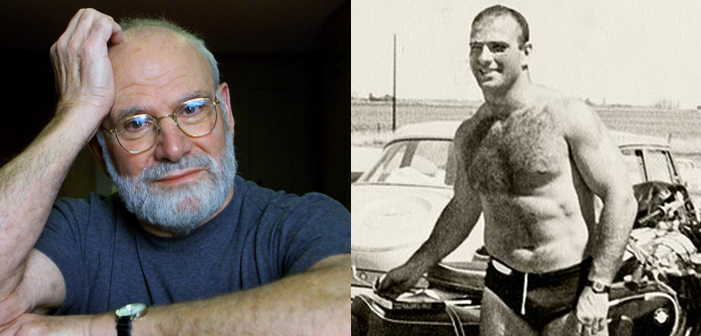 Oliver Sacks, sexy, handsome
