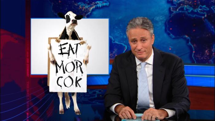 eat mor cok, chick-fil-a, jon stewart, daily show