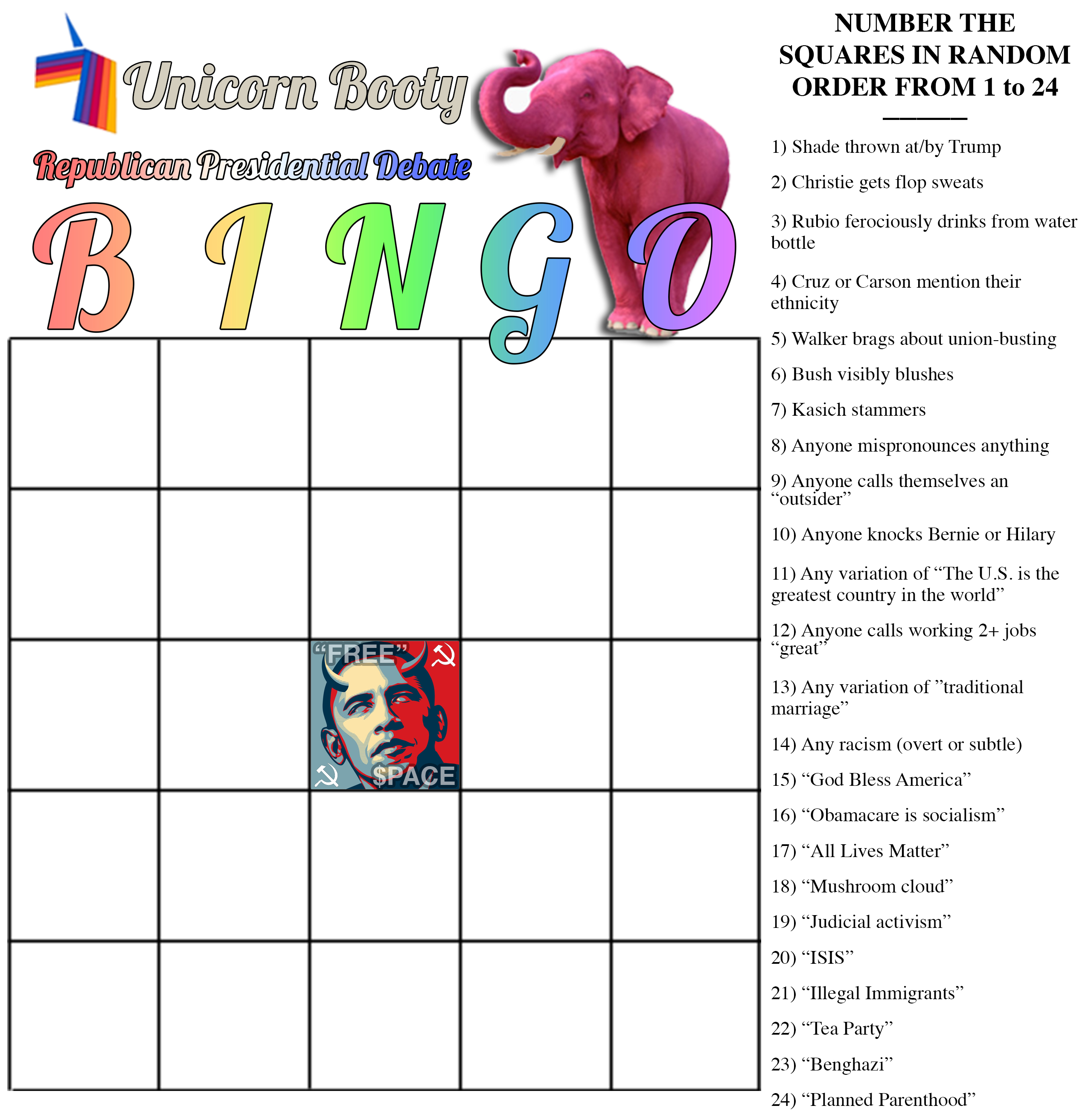 unicorn_booty_republican_debate_bingo_card