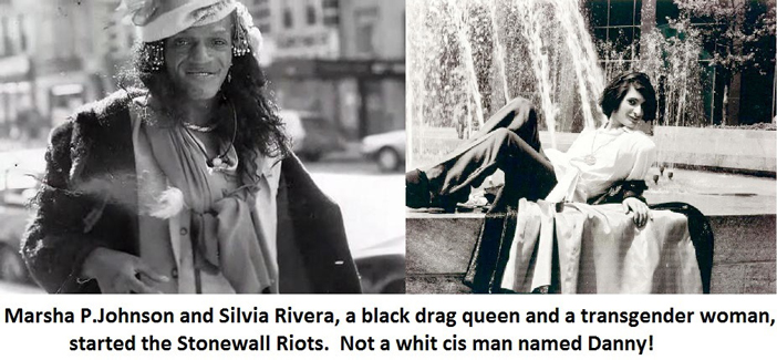 Sylvia Rivera, Marsha P. Washington, Stonewall riots