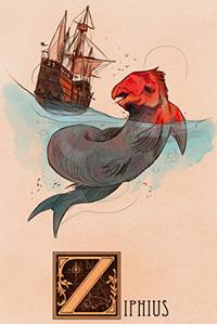 Nathan Anderson, Ziphius, sea monster