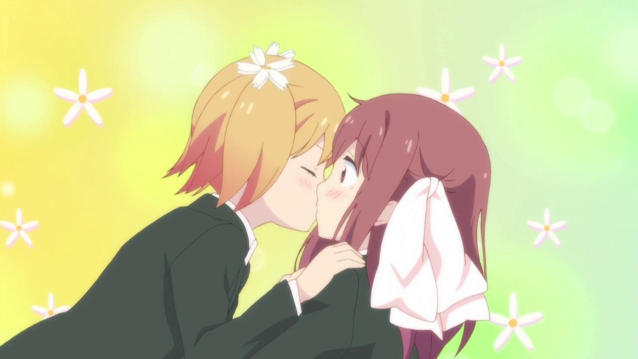 Sakura trick, anime, manga, gay couple